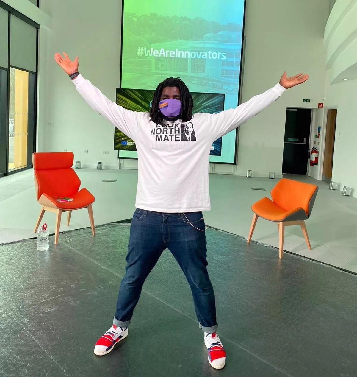 Kofi Smiles, Festival of Green Innovation host