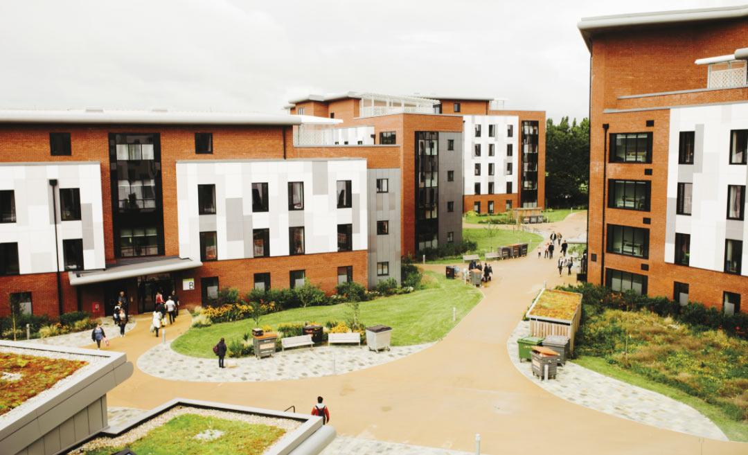 校内公寓Courtyard