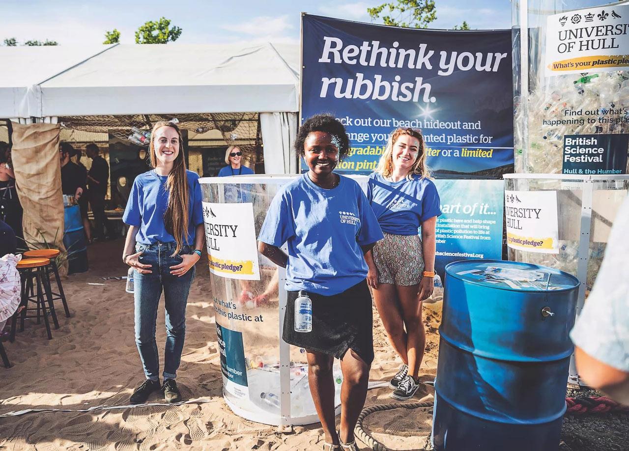 University of Hull\s Plastic Pledge